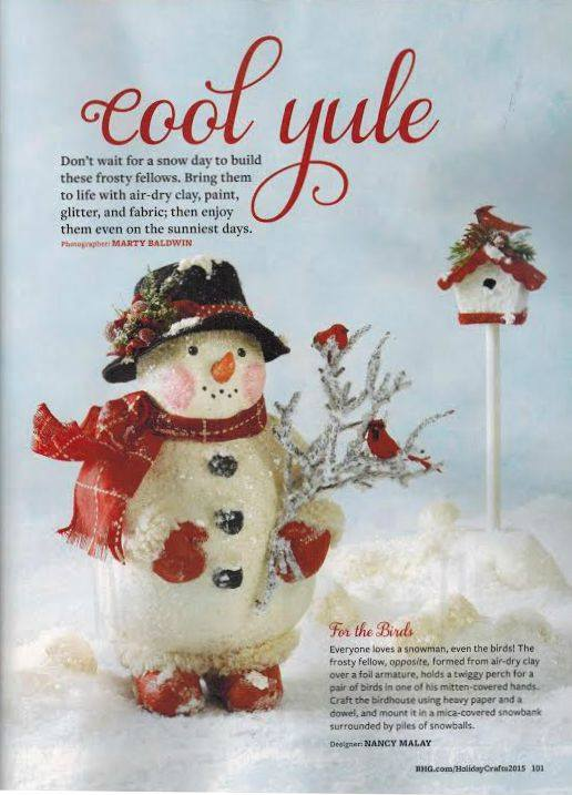 Published in Better Homes & Gardens Holiday Crafts