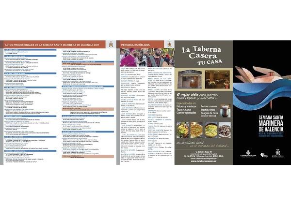 Programa, Horario e Itinerario Semana Santa Valencia 2017