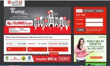 homepag wifi id