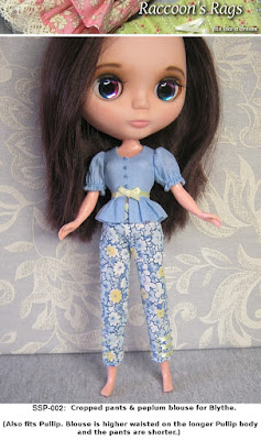 sewing pattern for blythe