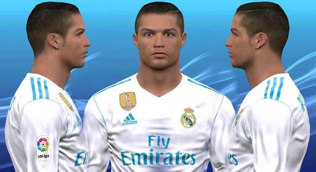 Face Cristiano Ronaldo PES 2017