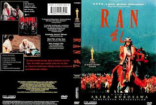 Carátula dvd: Ran (1985)