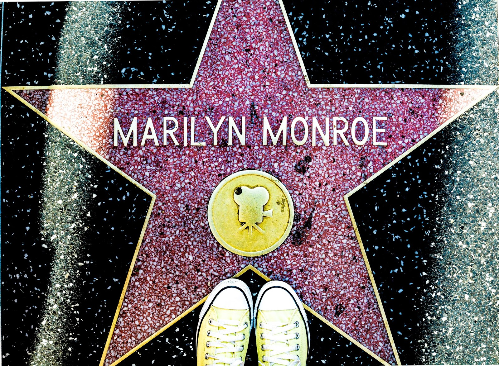 Marilyn Monroe Hollywood Star