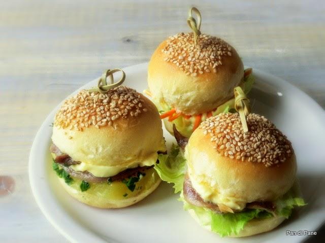 Amato Pan di Pane: Ricetta Panini morbidi da aperitivo, Mini Buns EC11