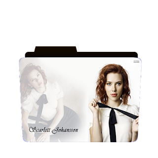 Preview of Scarlet Johanson Folder icons