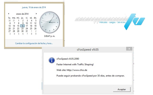 cFosSpeed Version 9.05 Build 2090 Español