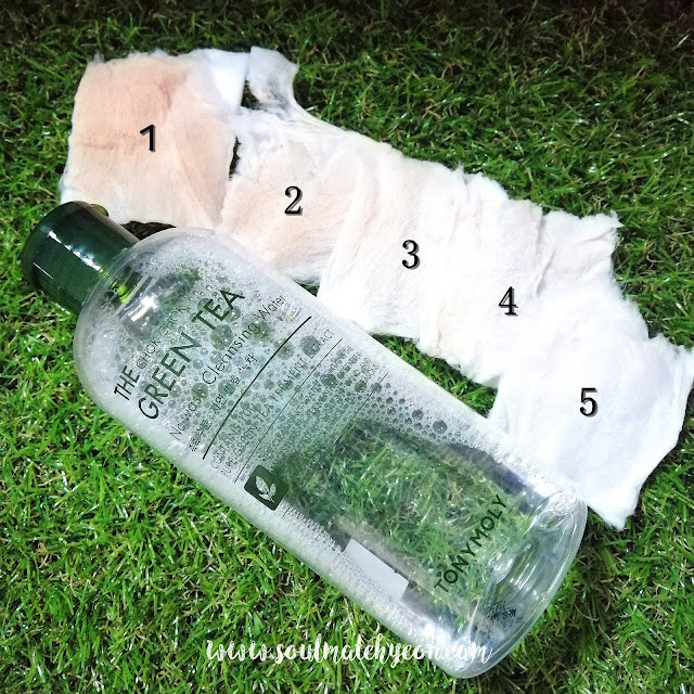 Review; Tony Moly's The Chok Chok Green Tea No-Wash Cleansing Water