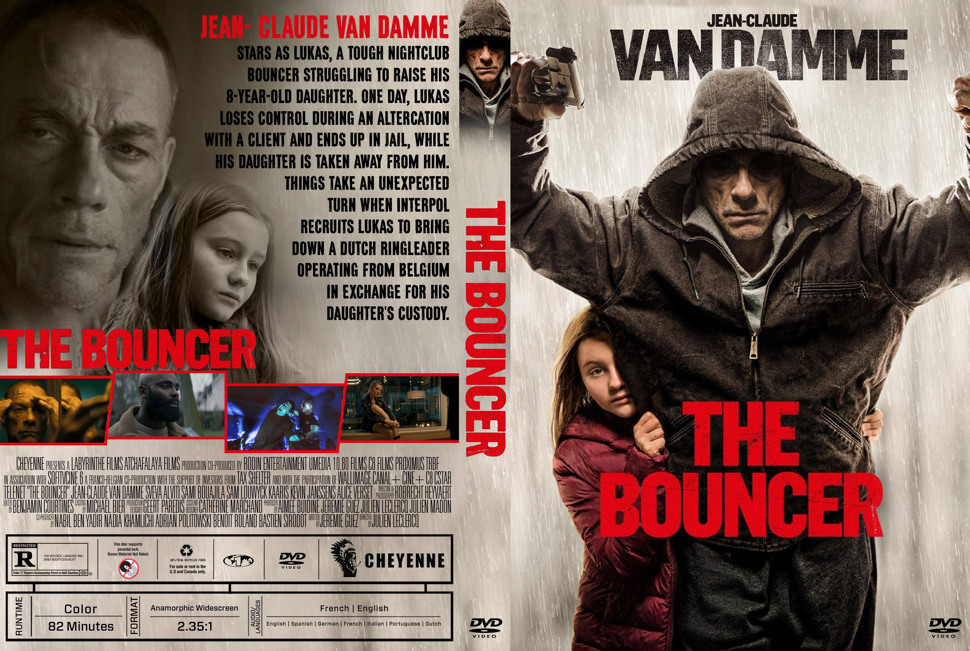 The Bouncer DVD Cover | Cover Addict - Free DVD, Bluray ...