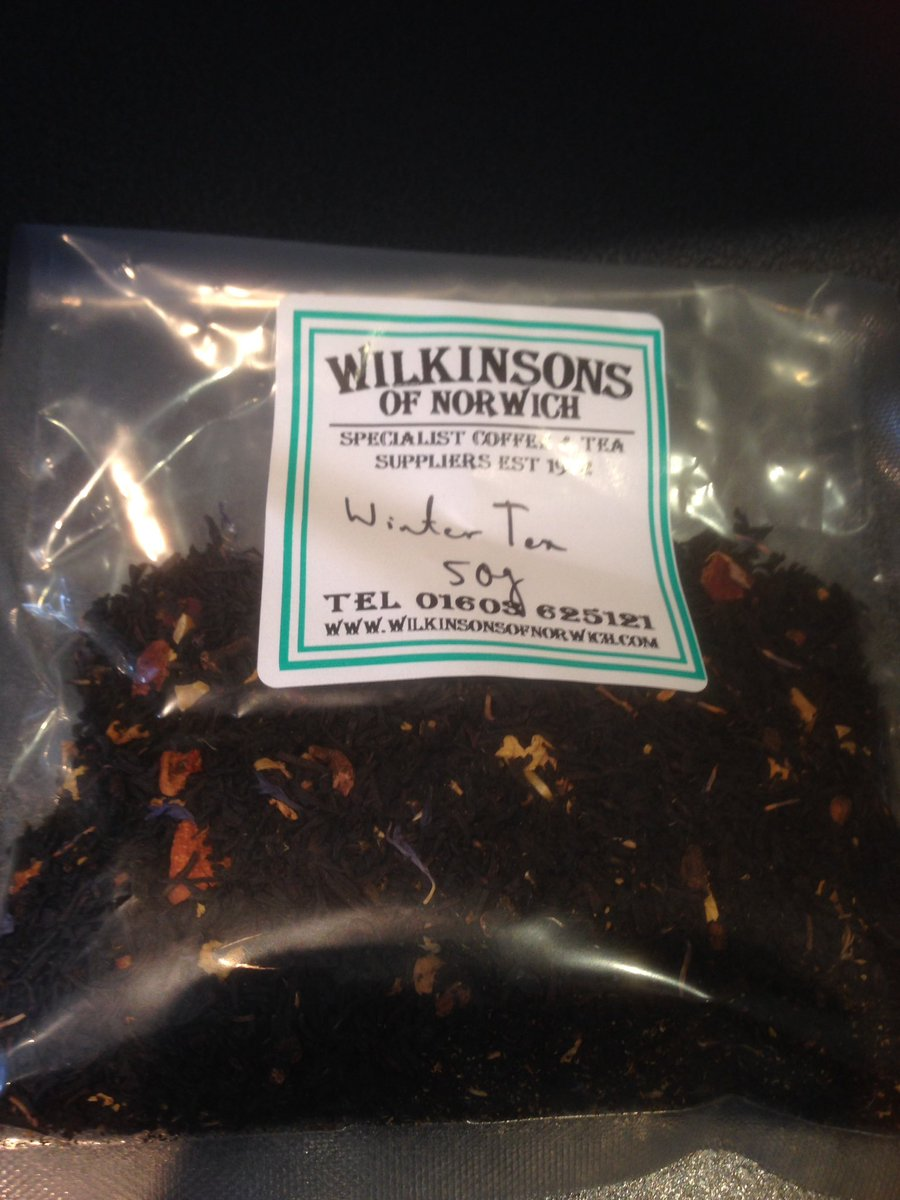 Laura's Tea Room: Wilkinson's Of Norwich: Winter Tea