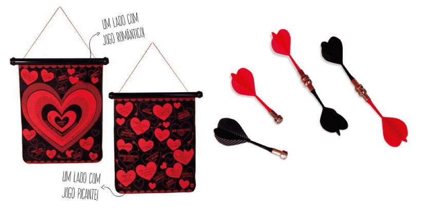 Presentes para homens, Dia dos Namorados, jogo de dardos para casais