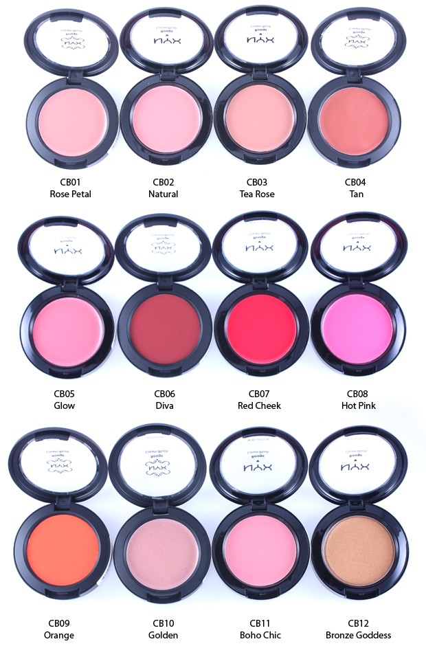 Nyx Rouge Cream Blush Natural Review Swatches New Love Makeup