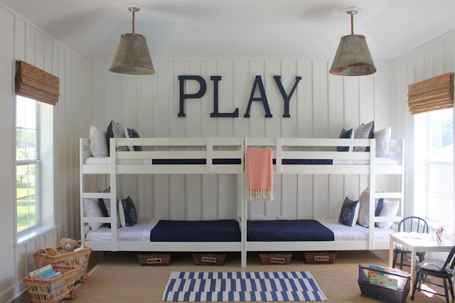Fresh  as some of my very favorite bloggers have used this very same bed in their designs Amazing how a coat of paint can transform this knotty pine look