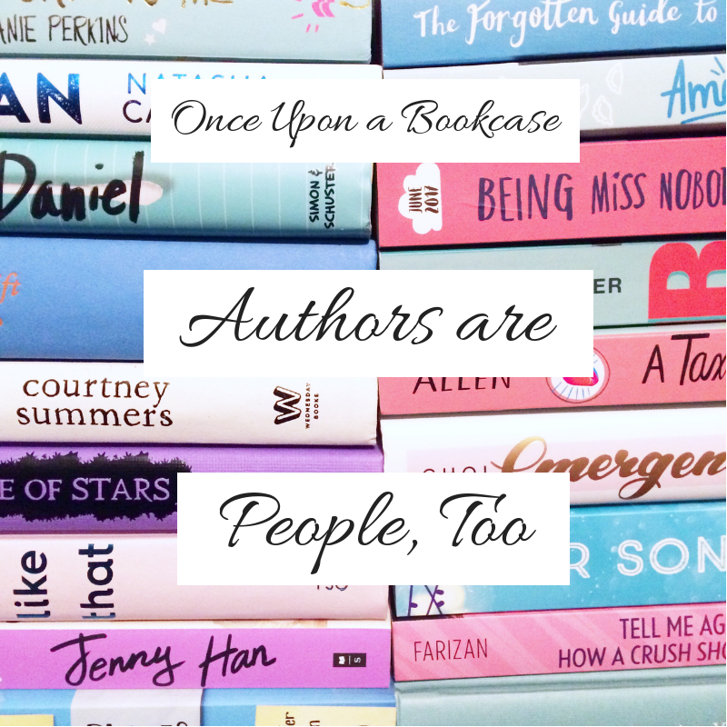 Authors are People, Too