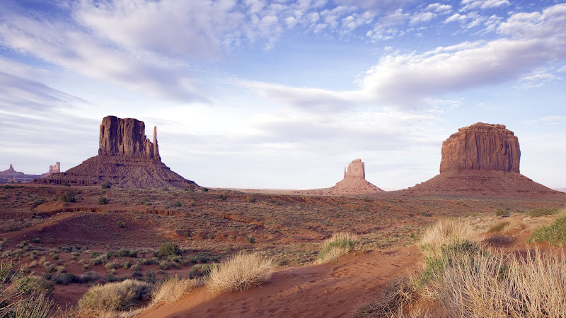 Landscape from Monument Valley