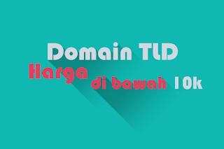 Promo Domain TLD Murah dengan Harga dibawah 10 Ribu