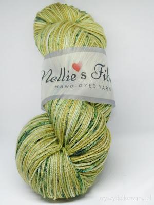 Ręcznie farbowane merino od Nellie