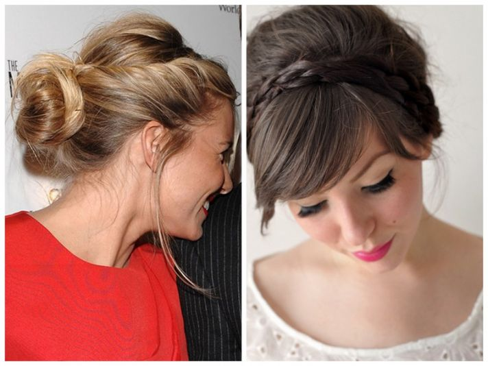 Dawn J's Fashion Wedding Gown: Hairstyles For Vintage Brides