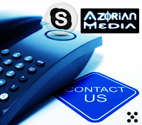 "Add ""AzorianMedia"" to your Skype Contacts!"