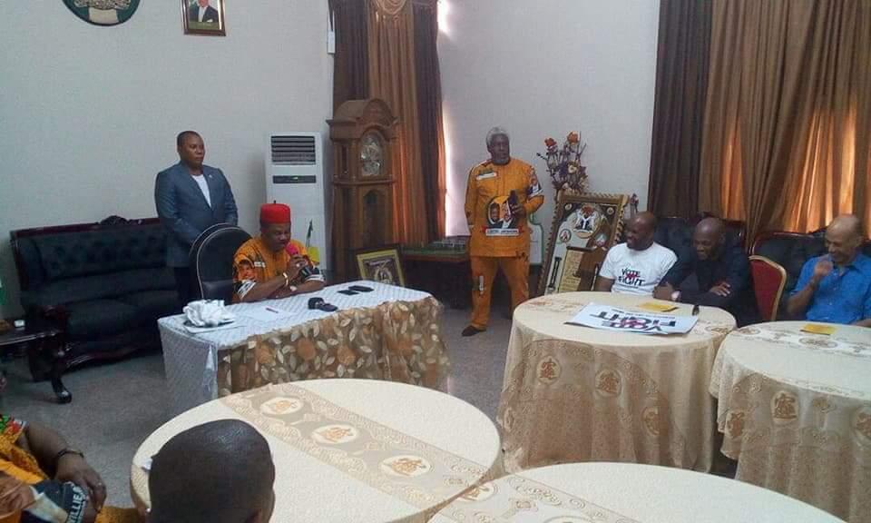 Stella Dimoko Korkus com: Anambra State Governor Obiano