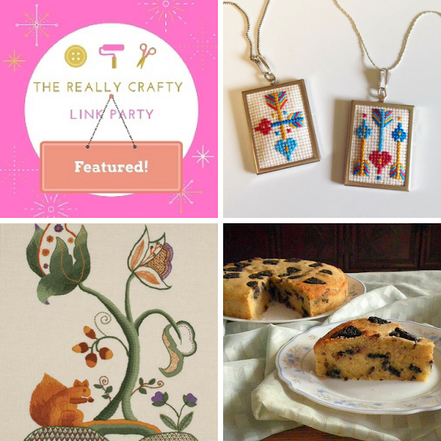 The Really Crafty Link Party #55 featured posts