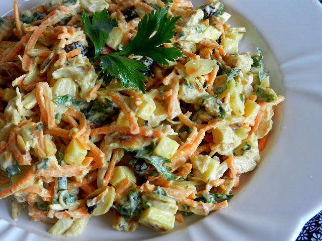 Salpicao is a traditiona Brazilian potato salad. Photo courtesy Pitadinha