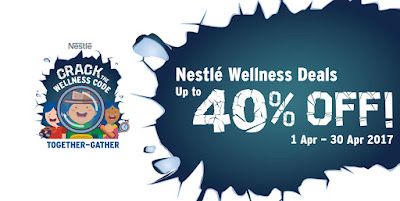 Malaysia Lazada Voucher Code Nestle Wellness Deals Discount Promo