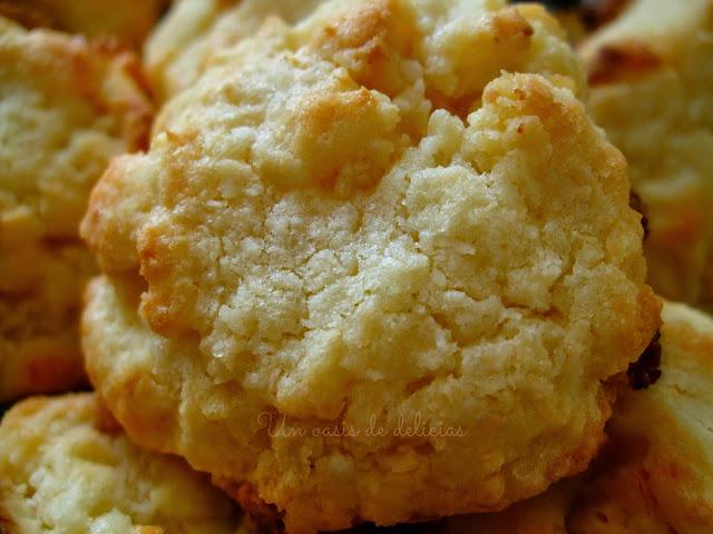 Biscuits à la noix de coco et au chocolat blanc