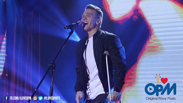 Daniel Herrington sings 'Mahal Kita Pero' on I Love OPM