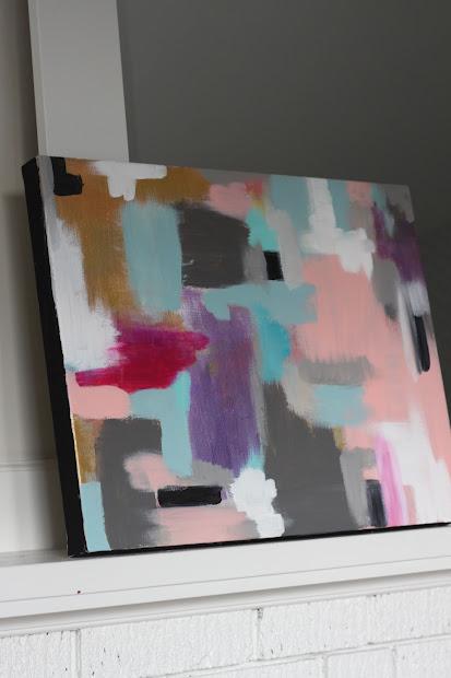 Modern Jane Diy Abstract Art