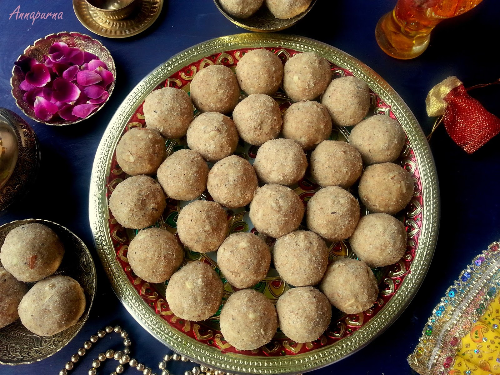 Annapurna whole wheat flour ladoo with edible gum and dry fruits it is the first week of december and winters have officially begun in india here in gurgaon the city is covered with a thick blanket of fog since two days forumfinder Image collections