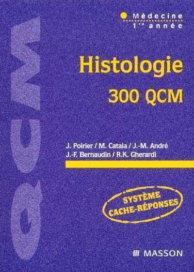 histologie 300 qcm pdf