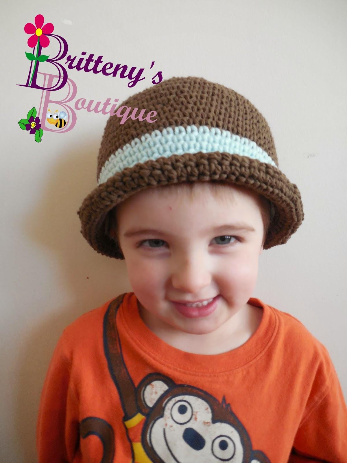 Britteny Off the HOOK!!: Modern Bowler Hat Crochet Pattern - PDF ...