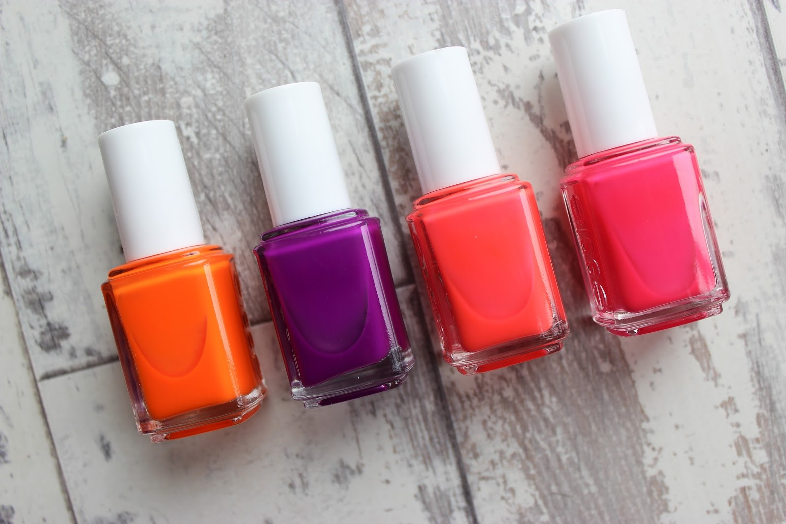 essie nail varnish neon collection dark skin swatch gallery gal mark on miami the art of fuschia off the wall dosblog