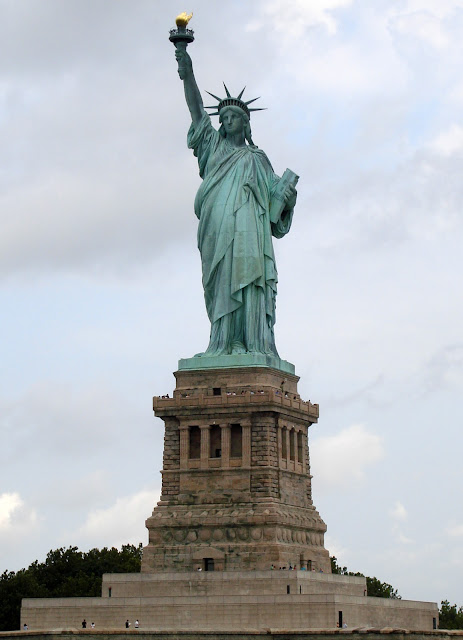 Statue of Liberty - The Decorated House July 2014
