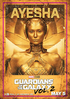 Guardians of the Galaxy Vol. 2 Movie Poster 14 Elizabeth Debicki