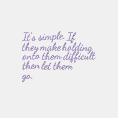 Many Motivational Quotes. Daily Thought: Letting go of people