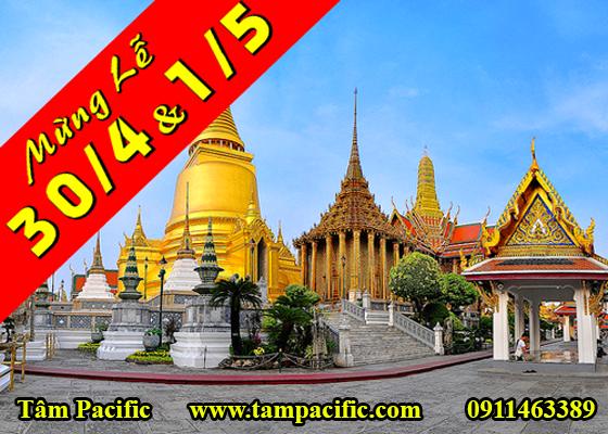 Tour Thái Lan 5N4Đ chào đón ngày quốc tế lao động 1/5 của thế giới