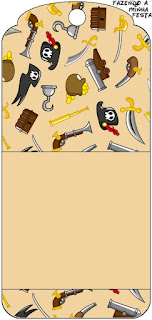 Pirate Party Free Printable Bookmarks.