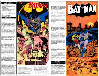 Batman Hombre Murcielago ficha dc comics