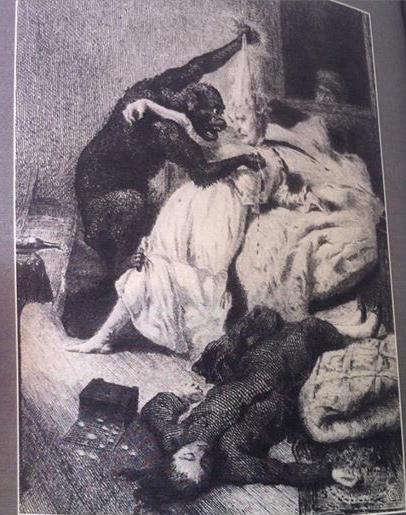 Ilustração Biografia Edgar Allan Poe Mago Terror Jeanette Rozsas