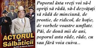 Un mesaj al lui Toma Caragiu către România de azi şi de poimâine