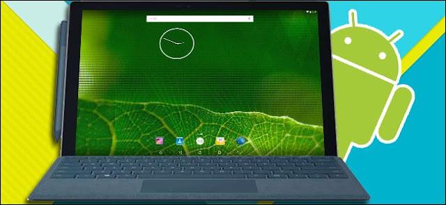 menjalankan android di PC dengan amiduos