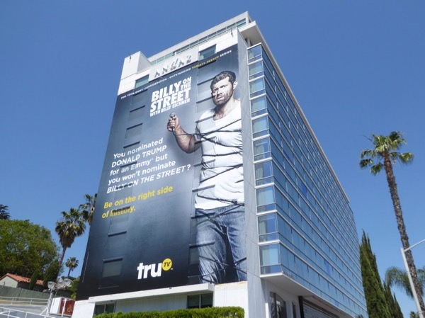 Giant Billy on the Street season 5 Emmy fyc billboard