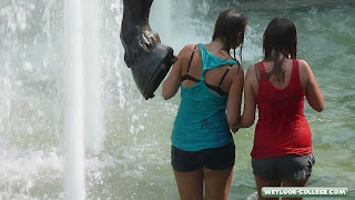Teen girls. Wetlook