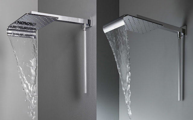 wall mounted shower head