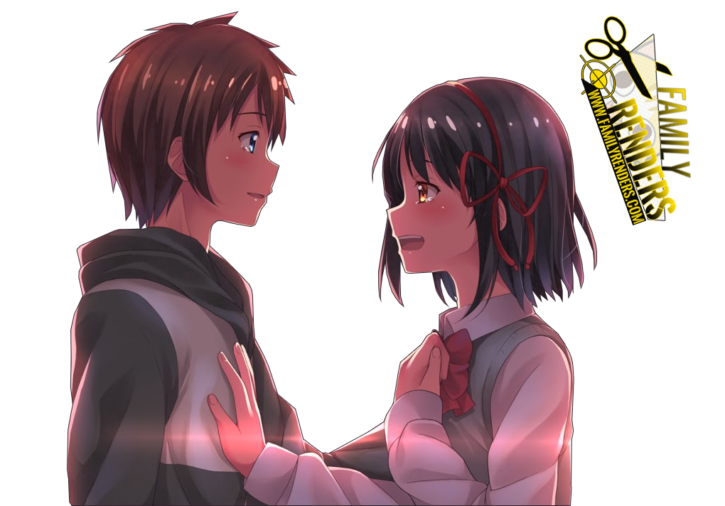 RENDER MITSUHA MIYAMIZU + TAKI TACHIBANA
