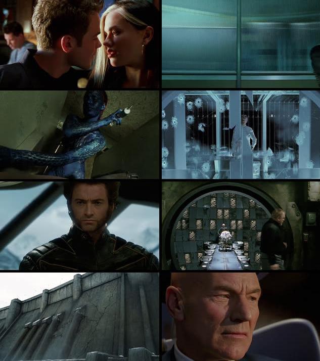 X-Men 2 United 2003 Dual Audio Hindi 720p BRRip