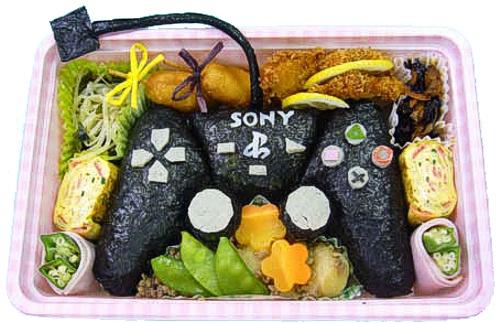 Image result for arte na comida japonesa