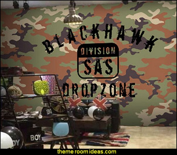 Army Wall Decor - Home Decorating Ideas