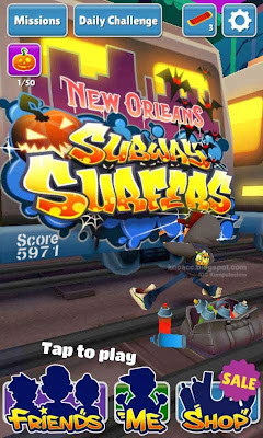 Preview Game Subway Surfer